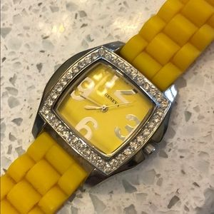 Geneva Yellow Watch. EUC